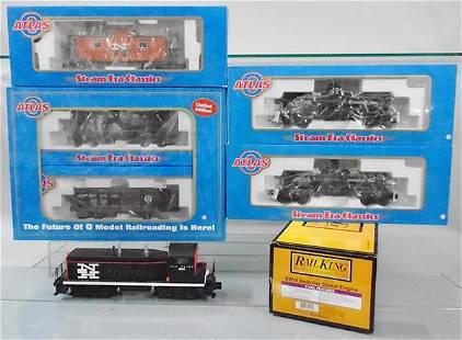 MTH RAIL KING & ATLAS TRAIN SET