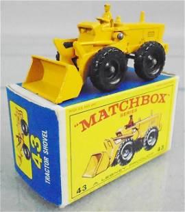 MATCHBOX 43B1 TRACTOR SHOVEL