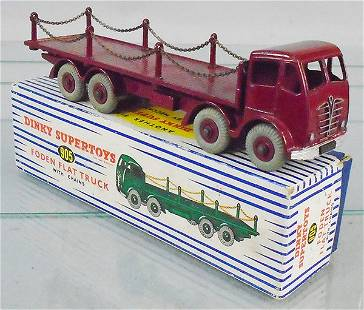 DINKY 905 FODEN FLAT W/CHAINS