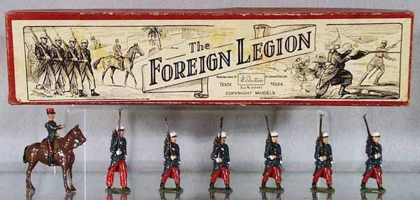 9: BRITAINS 1711 THE FOREIGN LEGION