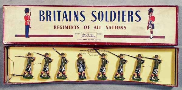 15: BRITAINS 1901 CAPE TOWN HIGHLANDERS