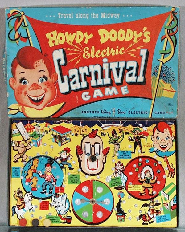 22: HOWDY DOODY ELECTRIC CARNIVAL GAME