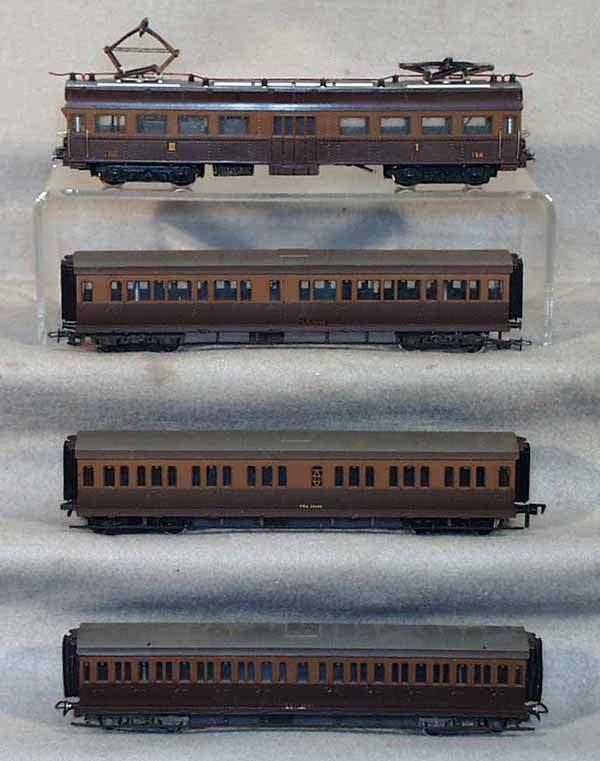 1013: RIVAROSSI TRAIN SET