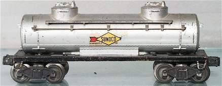 458: LIONEL 2465 SUNOCO TANK CAR