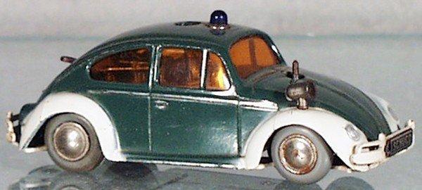 16: SCHUCO 3000 VW POLICE CAR