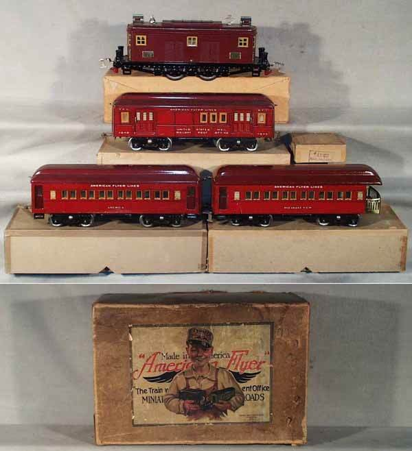 001: AF 1433 ALL AMERICAN LTD TRAIN SET