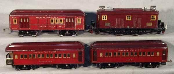 009: AF 1433 ALL AMERICAN LTD TRAIN SET