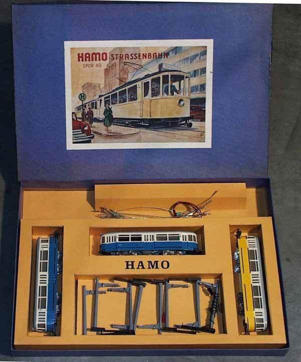 012: MARKLIN-HAMO 105A TROLLEY SET