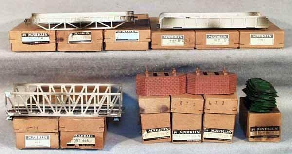 013: MARKLIN BRIDGE ACCESSORIES