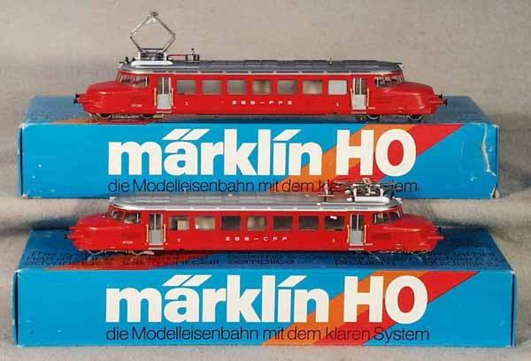 016: MARKLIN STREETCARS