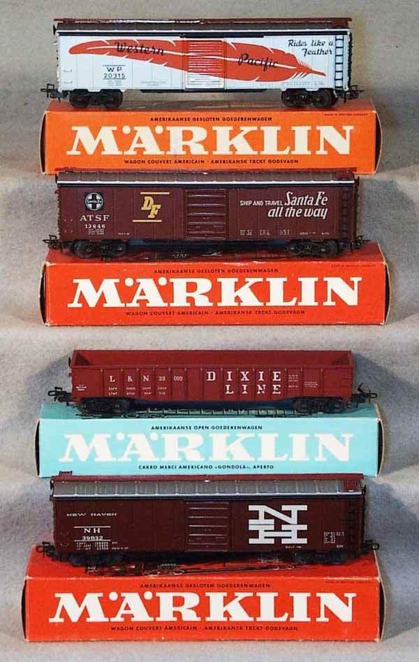 018: MARKLIN AMERICAN CARS