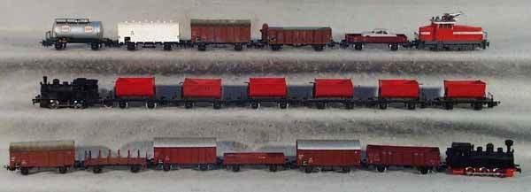 019: 3 MARKLIN TRAIN SETS