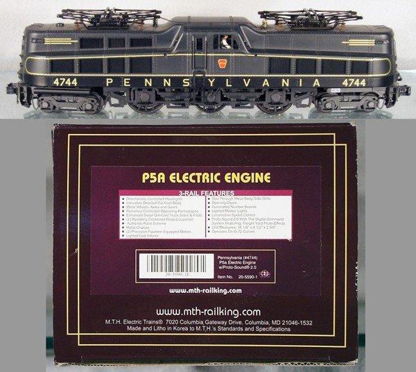 1: MTH 20-5590-1 PRR ELECTRIC LOCO