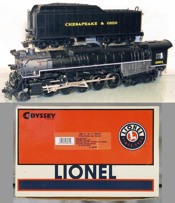 9: LIONEL C&O LOCO & TENDER