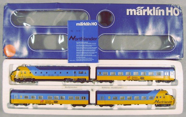 222: MARKLIN 3150 NORTHLANDER TRAIN SET