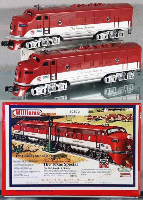 1: WILLIAMS TEXAS SPECIAL AA DIESEL SET