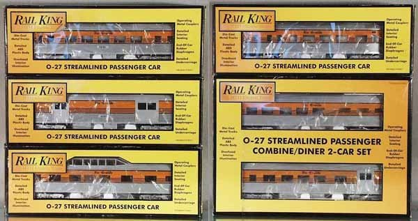 14: 6 MTH RAIL KING RIO GRANDE CARS