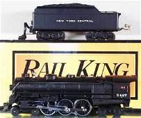141: MTH RAIL KING NYC HUDSON LOCO & TENDER