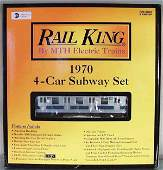 242 MTH RAIL KING 3021221 NY TRANSIT SUBWAY SET