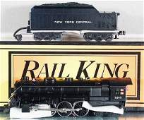 335: MTH RAIL KING NYC HUDSON LOCO & TENDER