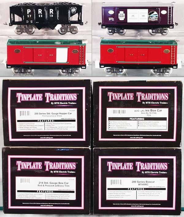3: 4 MTH FREIGHT CARS