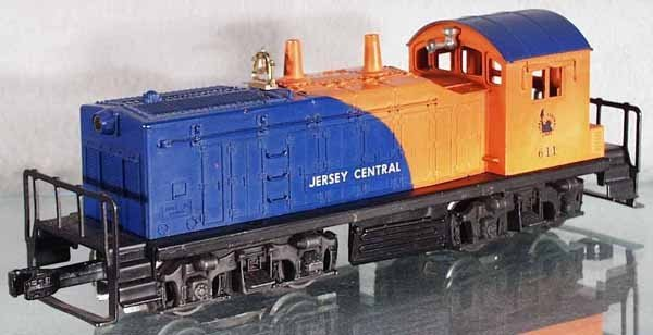 4: LIONEL 611 JERSEY CENTRAL SWITCHER