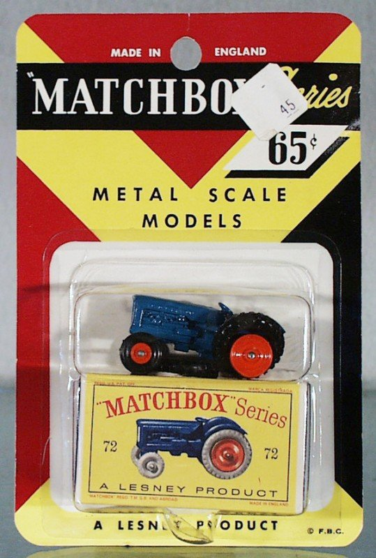 4: MATCHBOX 72A6 FORDSON TRACTOR