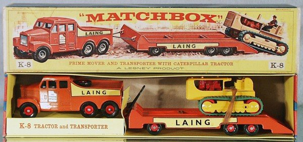 6: MATCHBOX K8A4 PRIMEMOVER W/TRACTOR