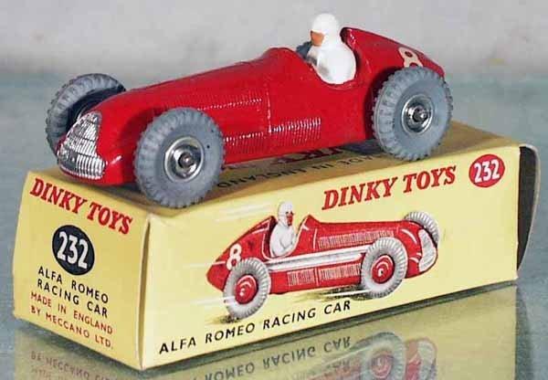 183: DINKY 232 ALFA ROMEO RACER