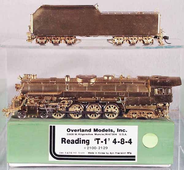 9: OVERLAND MODELS READING T1 LOCO & TENDER