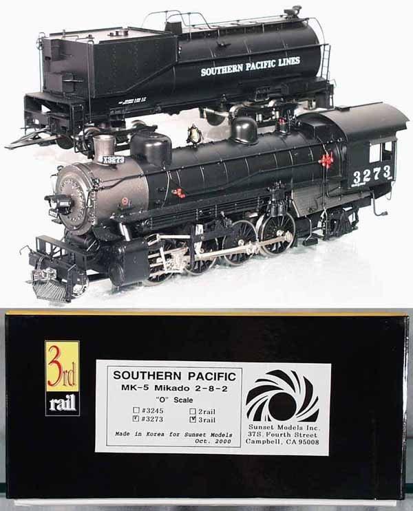 251: 3RD RAIL SUNSET MODELS 3273 SP MK-5 MIKADO LOCO &