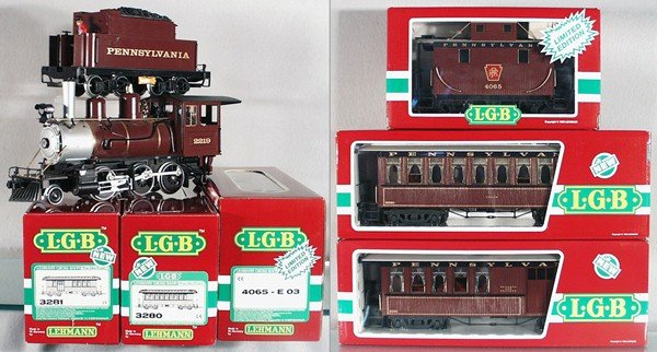 278: LGB PRR TRAIN SET