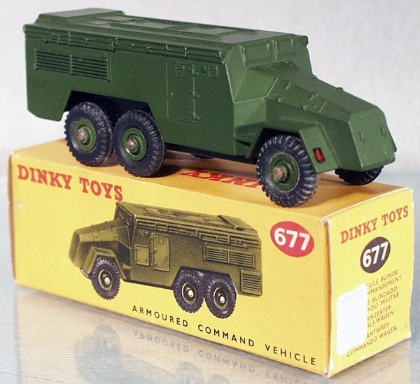 2: DINKY 677 ARMORED COMMAND VEHICLE