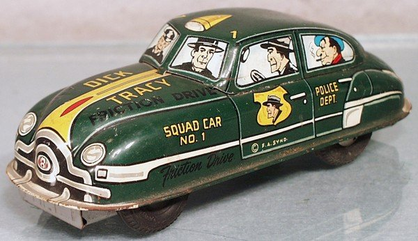 5: MARX DICK TRACY CAR