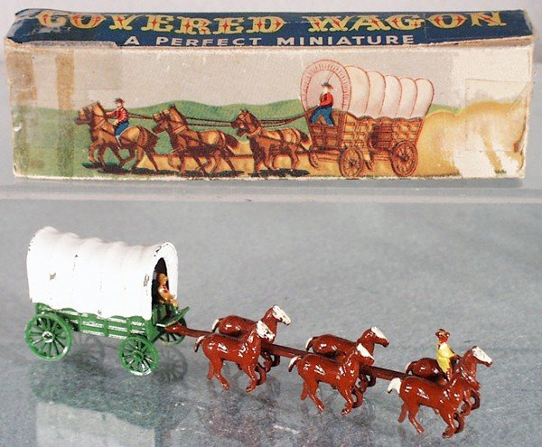 22: MATCHBOX MOKO COVERED WAGON