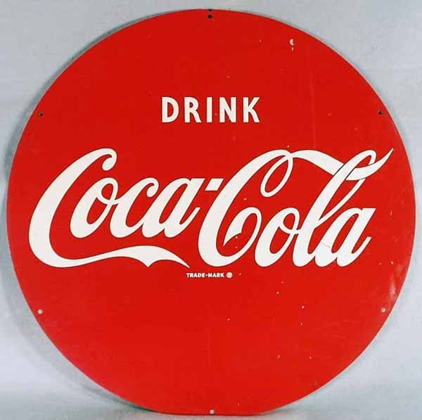5: COCA COLA ADVERTISING SIGN