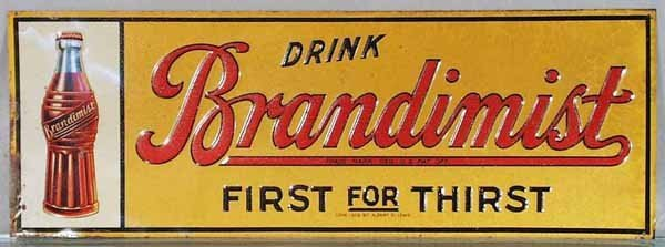 9: BRANDIMIST SODA ADVERTISING SIGN