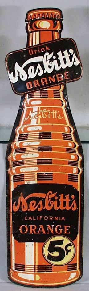 11: NESBITT'S SODA ADVERTISING SIGN