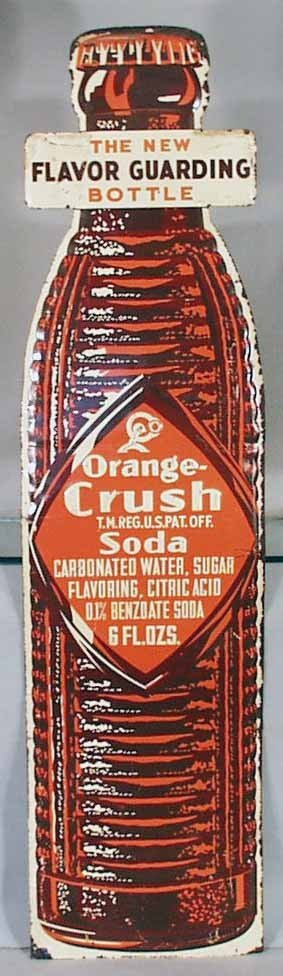 159: ORANGE CRUSH SODA ADVERTISING SIGN