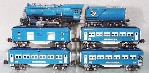 4: LIONEL BLUE COMET TRAIN SET
