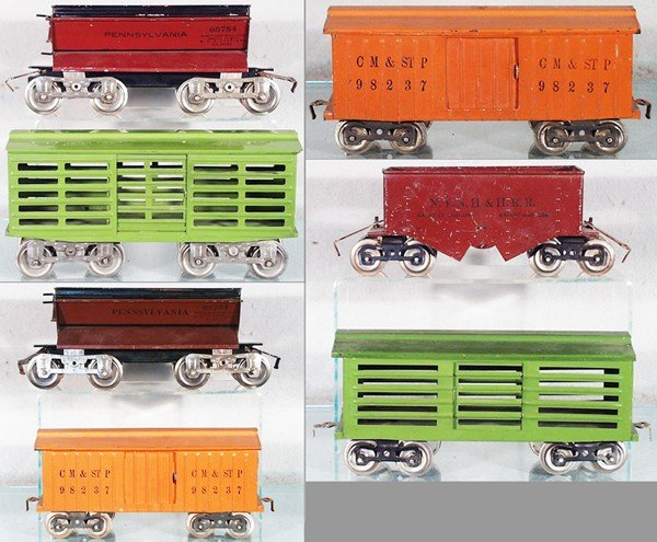 20: 7 LIONEL FREIGHT CARS