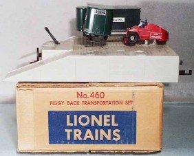 LIONEL 460 PIGGYBACK TRANSPORTATION SET