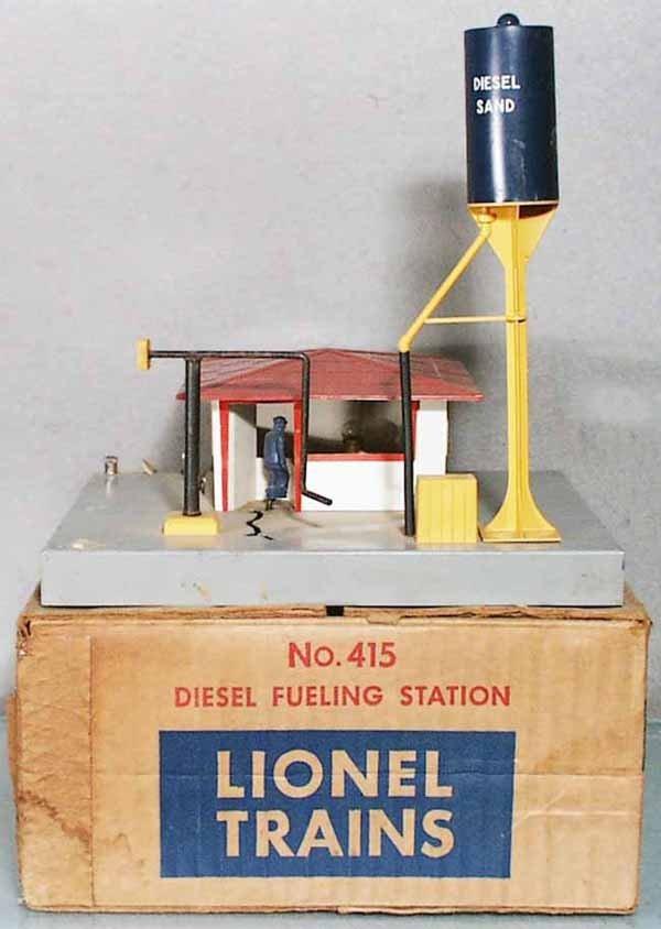 115: LIONEL 415 DIESEL FUELING STATION