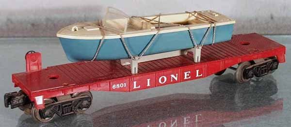 116: LIONEL 6801-75 BOAT CAR