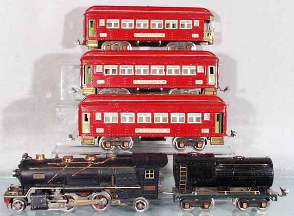 118: LIONEL 241E TRAIN SET