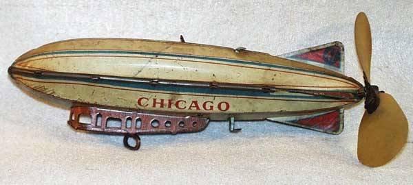 005: STRAUSS CHICAGO ZEPPELIN