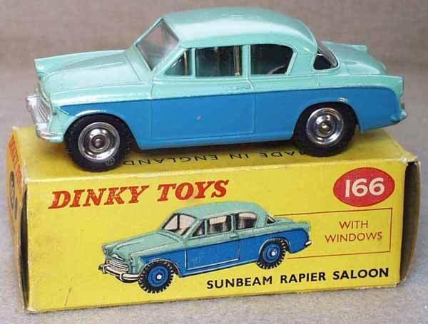 022: DINKY 166 SUNBEAM RAPIER SALOON