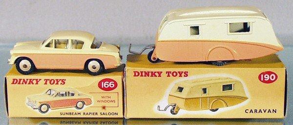 10: DINKY CAR & CARAVAN