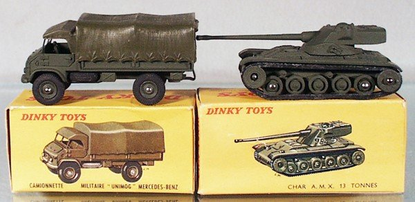 11: 2 DINKY MILITARY VEHICLES