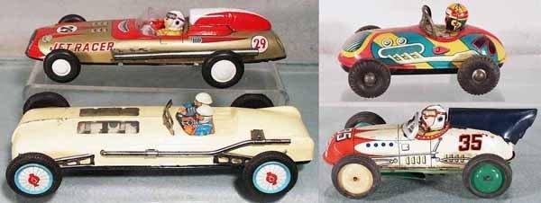 21: 3 TIN RACE CARS